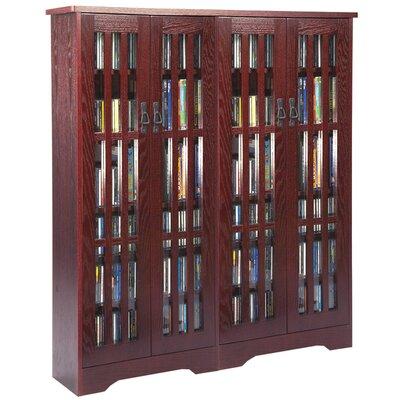 Jones Multimedia Cabinet Color: Dark Cherry