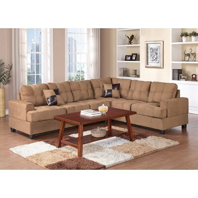 Birchview Sectional Upholstery: Saddle
