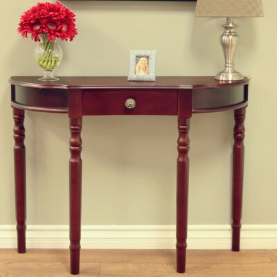 Kauffman Console Table Finish: Dark Walnut