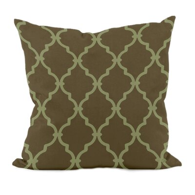 Reuter Trellis Throw Pillow Size: 18 H x 18 W, Color: Sage
