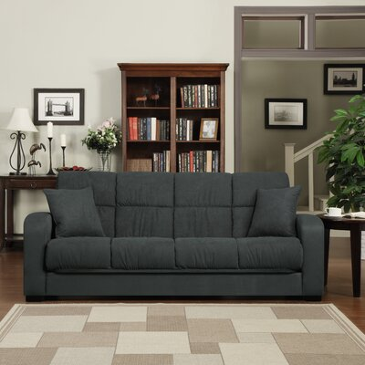 Richardson Full Convertible Sleeper Sofa Upholstery: Gray