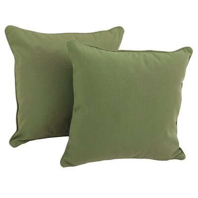 Weymouth Indoor/Outdoor Throw Pillow Color: Sage Green