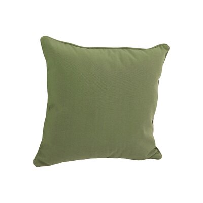 Weymouth Outdoor Throw Pillow Color: Sage Green
