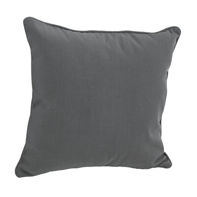 Weymouth Outdoor Throw Pillow Color: Gray