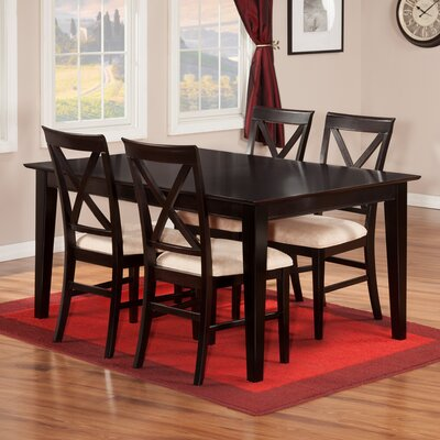 Crestwood Traditional 5 Piece Dining Set
