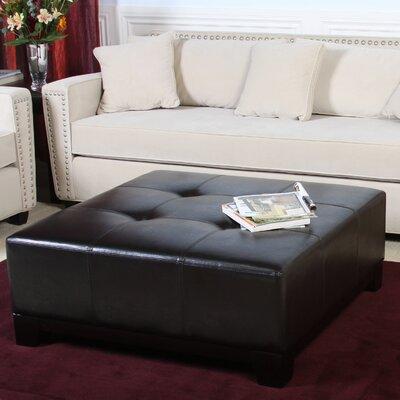 Dessie Leather Ottoman