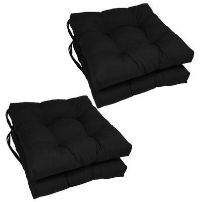 Dining Chair Cushion  Color: Black