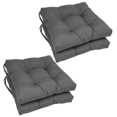 Dining Chair Cushion  Color: Grey