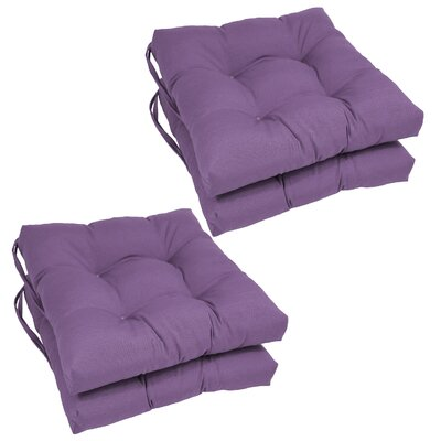 Dining Chair Cushion  Color: Grape