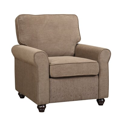 Almeda Arm Chair Upholstrey: Peat