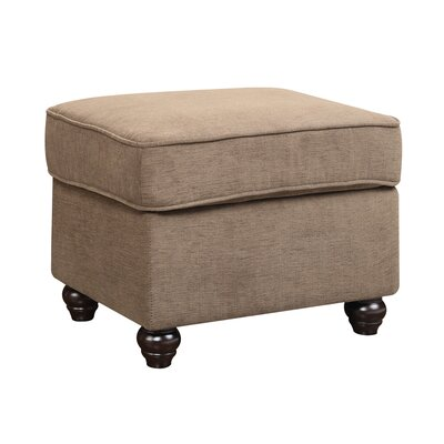 Veronica Ottoman Upholstery: Peat