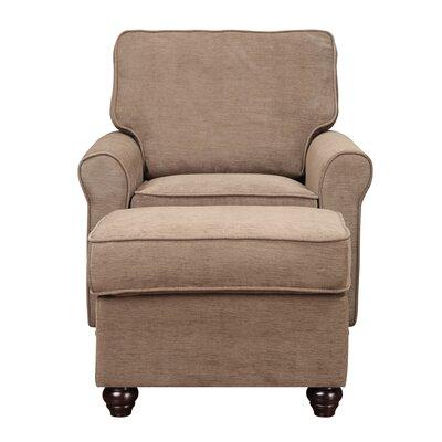 Almeda Armchair Upholstery: Peat