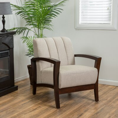 Sheridan Arm Chair Upholstery: Taupe