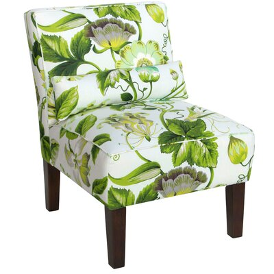 Thurston Slipper Chair Upholstery: Grandiflora Jardin