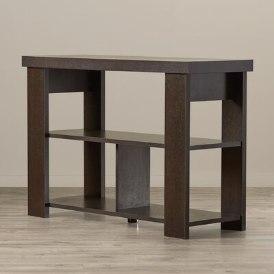 Abbot Bridge Console Table Finish: Espresso