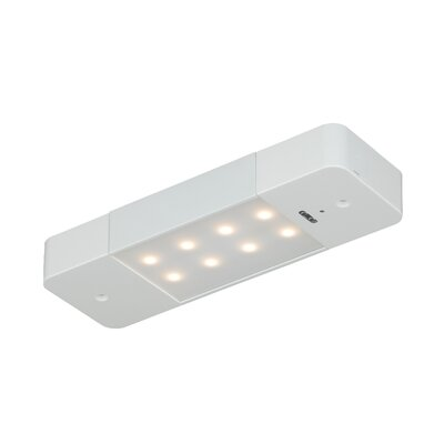 Bengtson 8 LED Under Cabinet Bar Light Finish: White