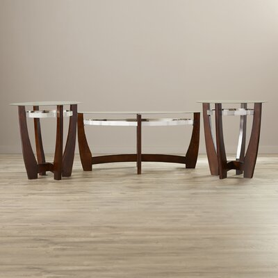 Stoneybrook 3 Piece Coffee Table Set