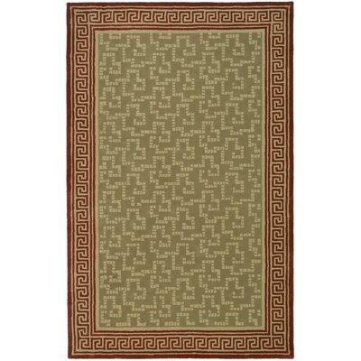 Byzantium Hand-Loomed Sealing Wax Area Rug Rug Size: 5 x 8