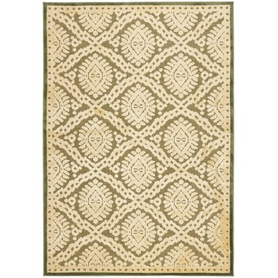 Hand-Loomed Dill Area Rug Rug Size: Rectangle 27 x 4