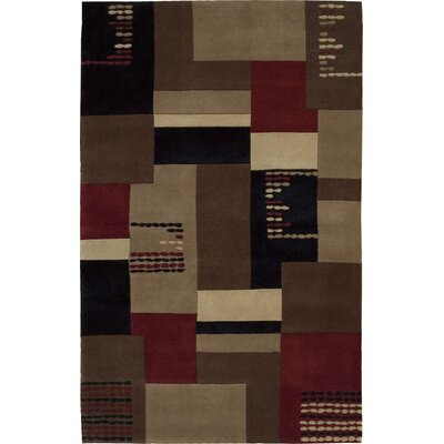 Bartelso Hand-Tufted Taupe Area Rug Rug Size: Rectangle 5 x 8