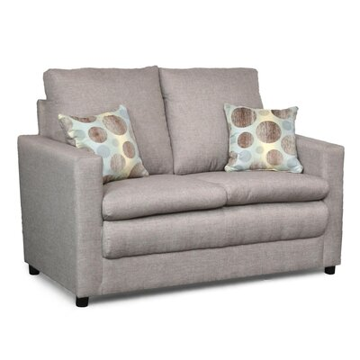 Theresa Loveseat Upholstery: Linen