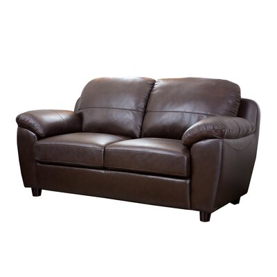Riegel Dark Brown Loveseat