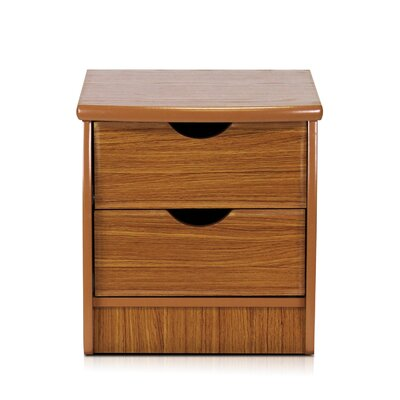 Cree 2 Drawer Nightstand