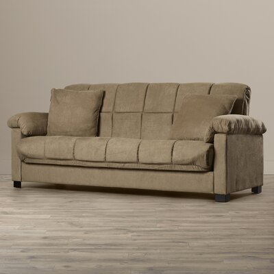 Minter Upholstered Sleeper Sofa Upholstery: Mocha