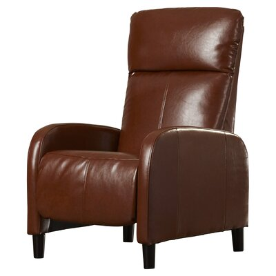 Irwin Manual Recliner Upholstery: Light Brown