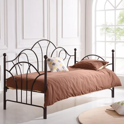 Crenshaw Metal Daybed Color: Bronze