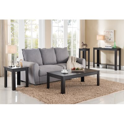 Inca 4 Piece Coffee Table Set Finish: Cappuccino