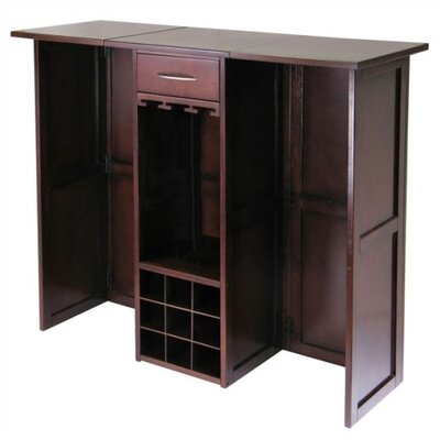 Coral Sea Cabinet with Wine Storage