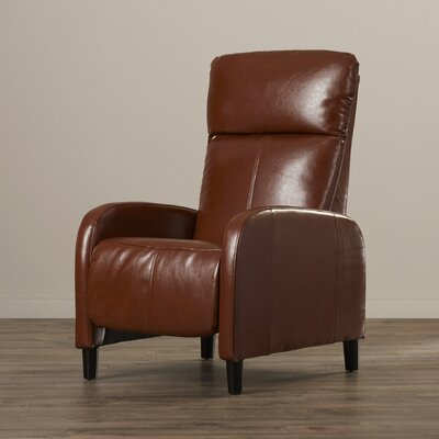 Irwin Recliner Upholstery: Light Brown