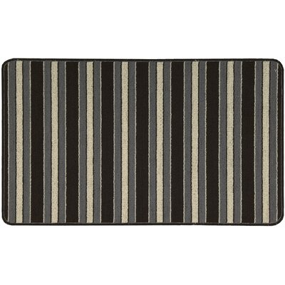 Ravens Striped Area Rug Rug Size: Rectangle 2 x 34