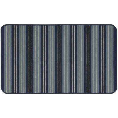 Ravens Navy Area Rug Rug Size: Rectangle 2 x 34