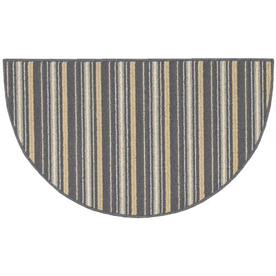 Ravens Blue Area Rug Rug Size: Slice 18 x 210