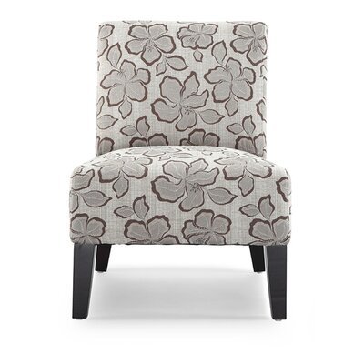 Poppy Slipper Chair Upholstrey: Hazel