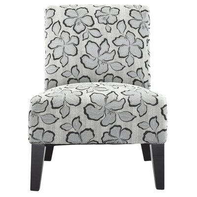 Poppy Slipper Chair Upholstrey: Pewter
