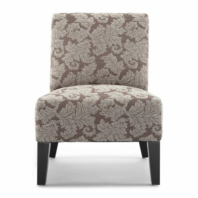 Poppy Fern Slipper Chair Upholstery: Taupe