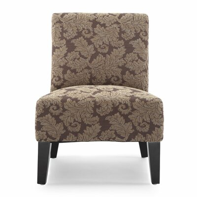 Poppy Fern Slipper Chair Upholstery: Carmel