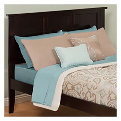 Marjorie Panel Headboard Color: Espresso, Size: Queen