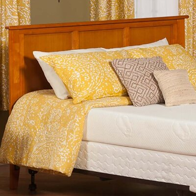 Marjorie Panel Headboard Color: Caramel Latte, Size: Queen