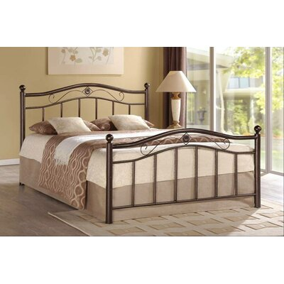 Wiedeman Platform Bed Size: Queen, Color: Bronze