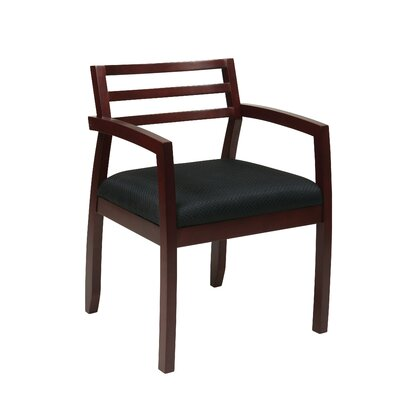 Roxanne Back Guest Chair Finish: Mahogany