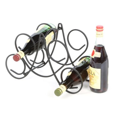 Hyder 5 Bottle Tabletop Wine Rack