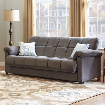 Minter Convertible Sofa Upholstery: Gray