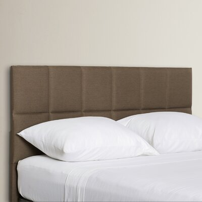 Fellowship Upholstered Panel Headboard Size: Queen / Full