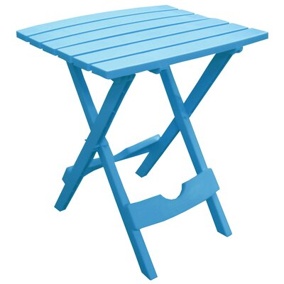 Quebec Side Table Finish: Pool Blue