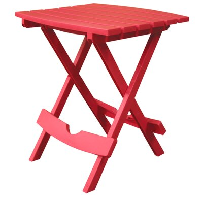 Quebec Side Table Finish: Cherry Red