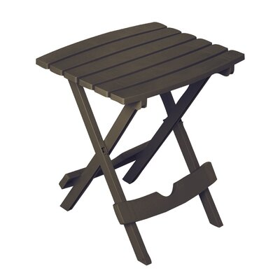 Quebec Side Table Finish: Earth Brown